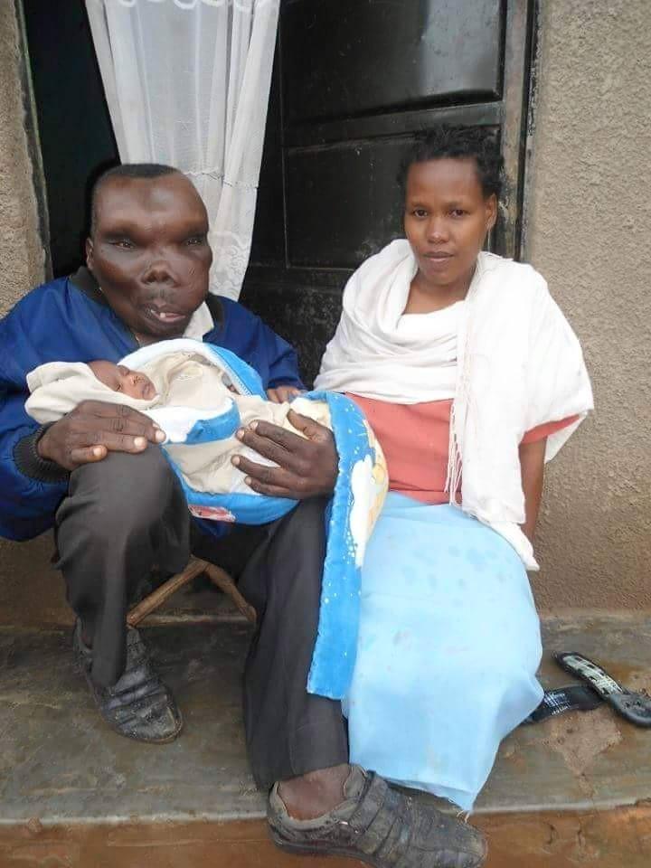 Sebabi, Uganda's ugliest man gets pretty baby girl ...