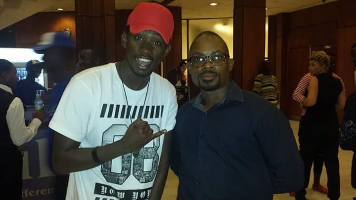 Gospel singers Levixone and Ham Kay.