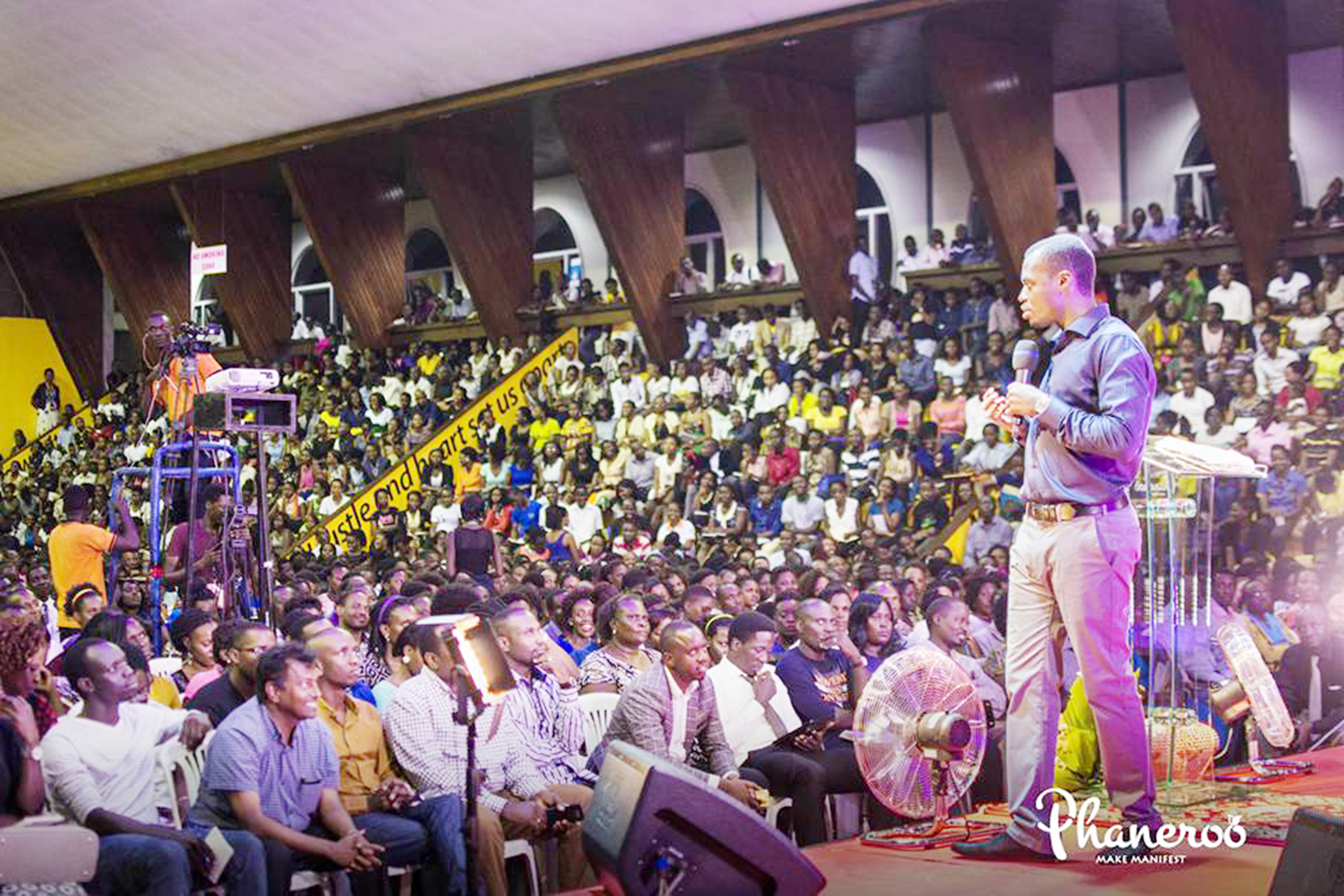 Apostle Grace Lubega of Phaneroo.