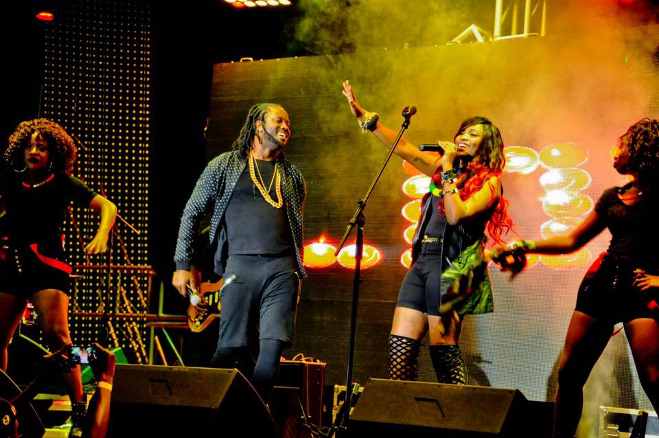 Bebe Cool and Ntale perform their Love Letter collabo.