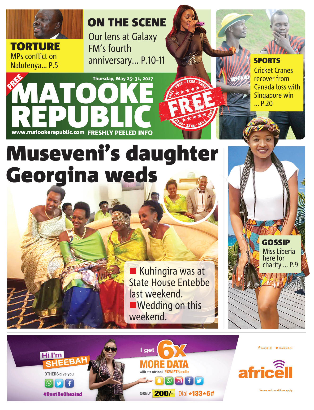 Read this week's issue of our free newspaper
