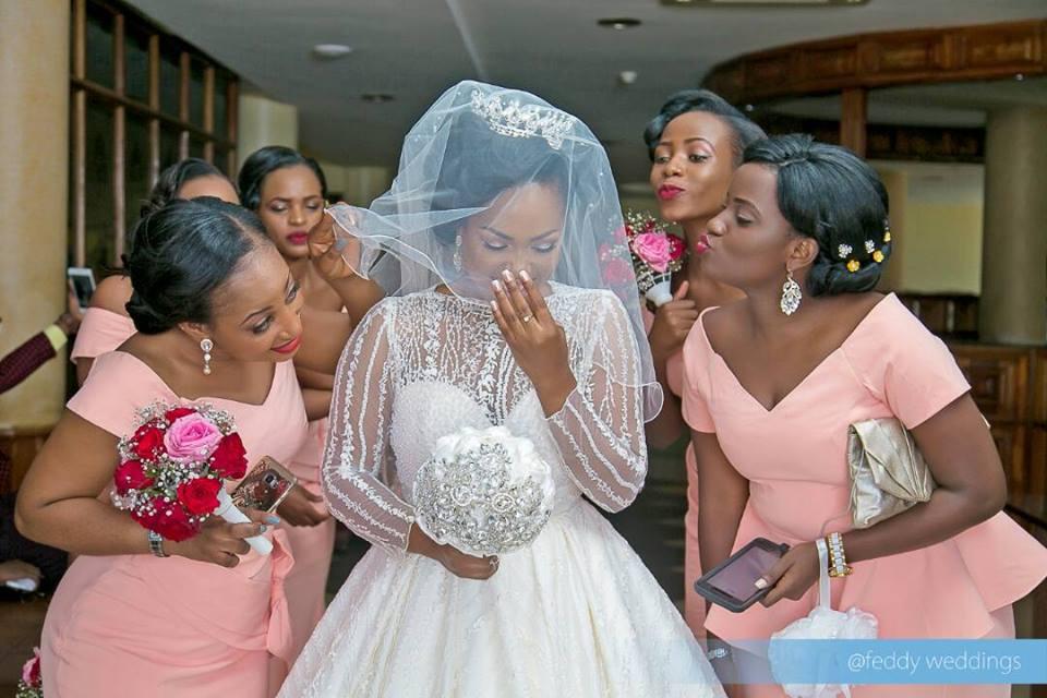 amazing photos from fyona kirabo�s wedding � uganda today