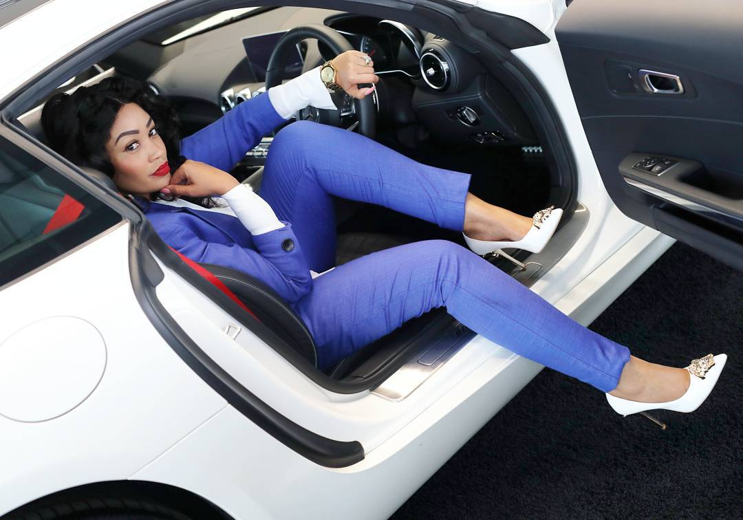 Photos Zari Lands Major Deal With South African Mercedes