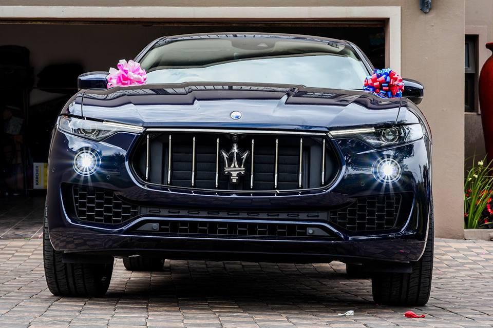 Who Owns Maserati >> PHOTOS: Prophet Shepherd Bushiri buys 6-year-old daughter ...
