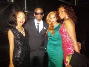 Sheila Gashumba, Diamond and Zari.