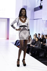 Miss South Sudan was also among the Top Model top 20.