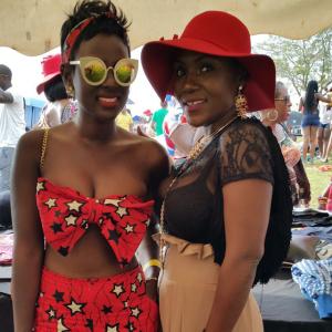 NBS' Bettina and Sylvia Owori.