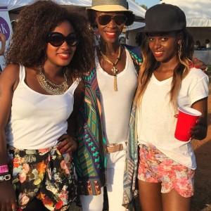Lielah Kayondo, Judith Heard and Hellen Lukoma.