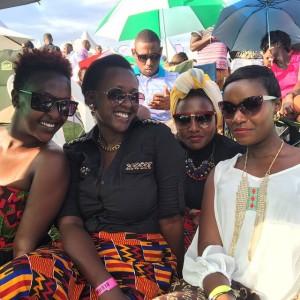 Lillian Mbabazi, Karitas Karisimbi,Laura Kahunde and  Juliana Kanyomozi.