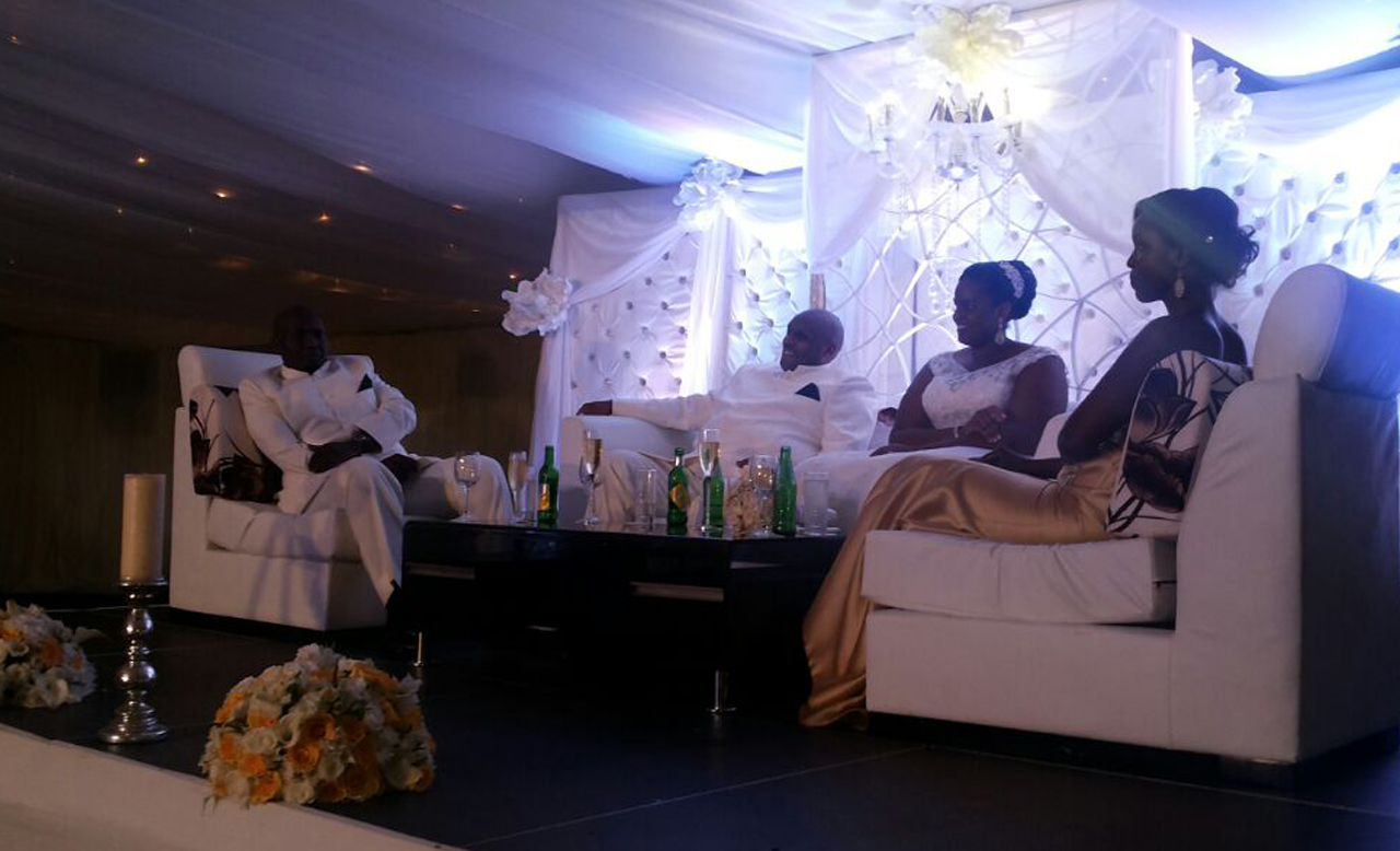 That was the high table.