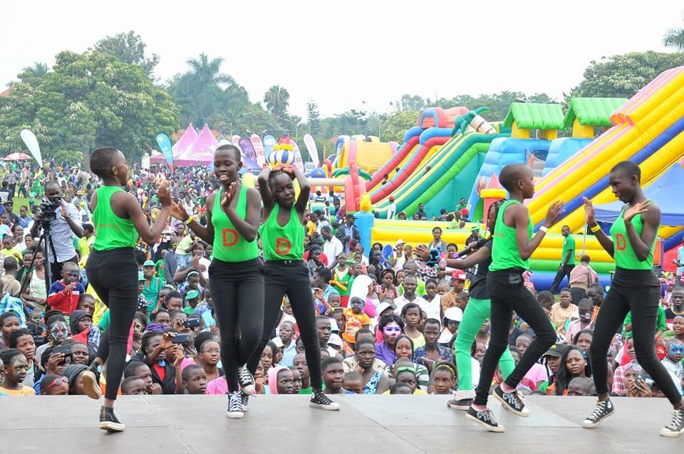 Uganda's children have got talent.