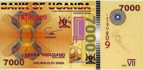 The Front Of Fake 7k Note