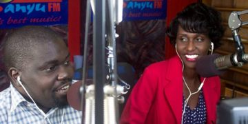 Fat Boy and Seanice when they were still co-presenters on Sanyu FM.