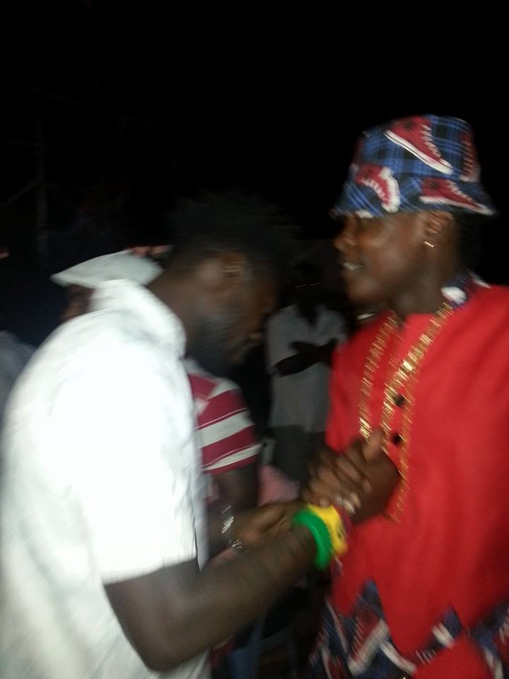 Bobi Wine and Chameleone.