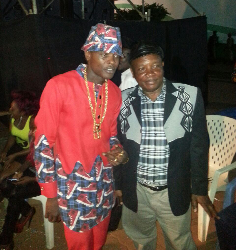 Jose Chameleone and Kadongo Kamu veteran Lord Fred Ssebatta.