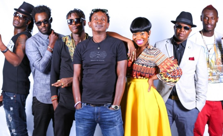 Nameless, Maurice Kirya, Jose Chameleone, Eric Wainaina, AY and Rabbit