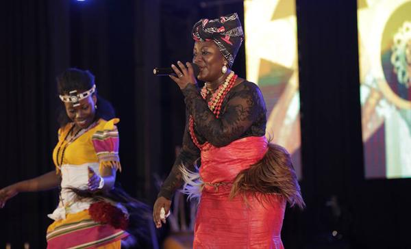 Irene Namatovu performs her award winning song Kuzala Kujaganya.