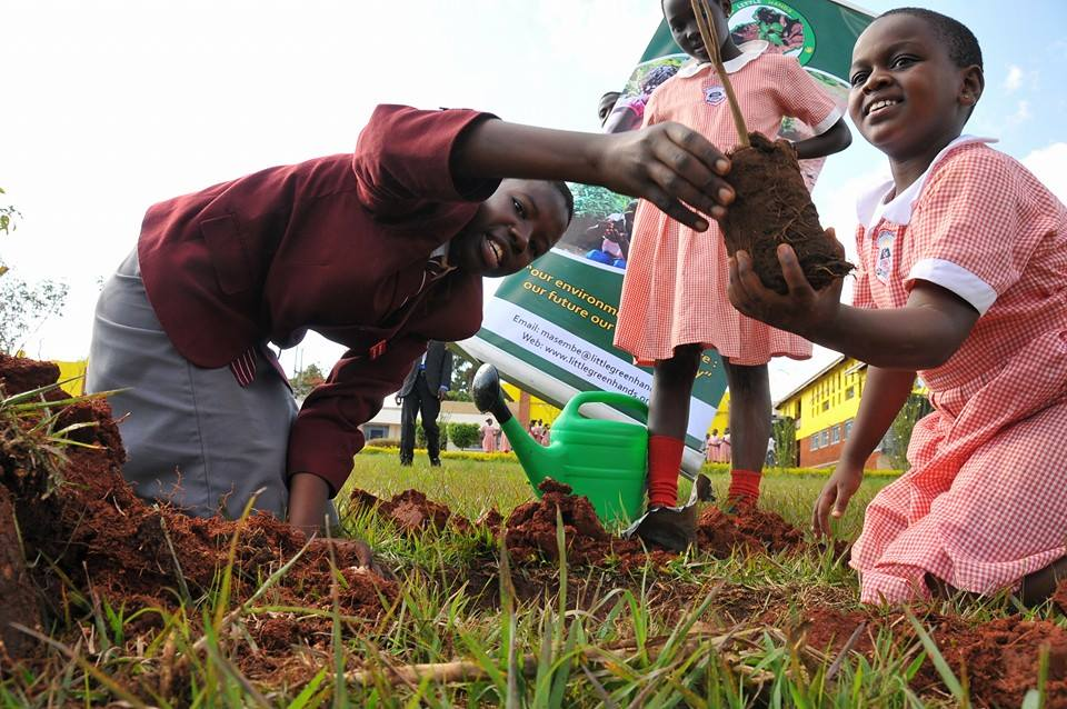 The future belongs to the children, so they have vested interest in environmental conservation.