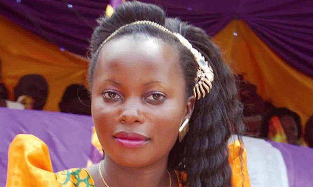 Robinah Sanyu Mweruka.
