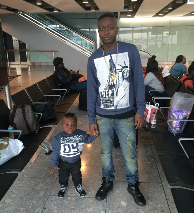 AK47 and his little man.