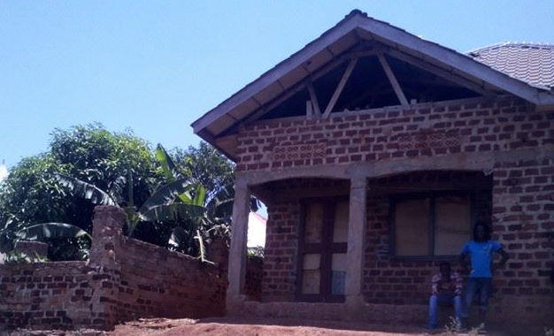 AK-47's house that he was constructing next to his father's property.