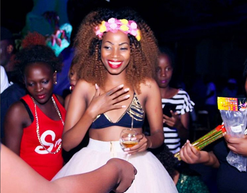 Sheebah was surprised because she expected a small party.