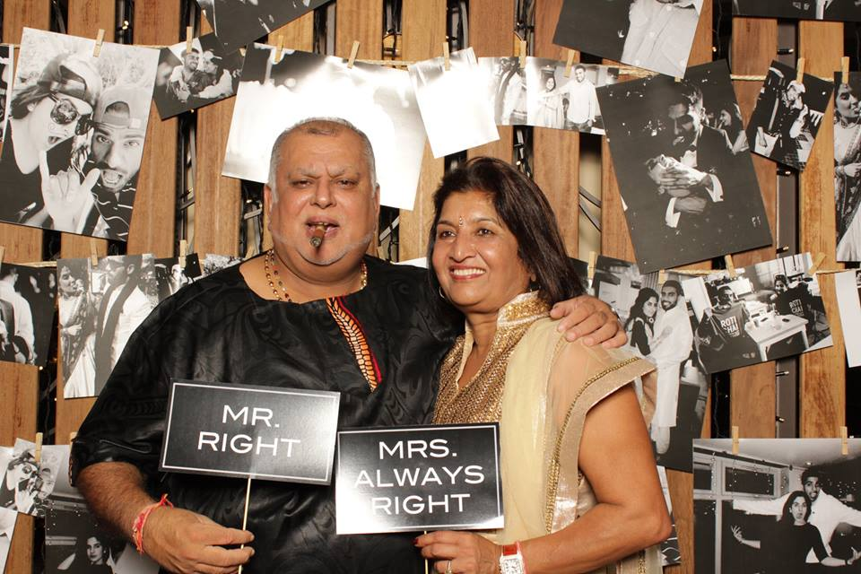 Sudhir and his wife Jyostna. They are a perfect example to the children, having been married for 39 years.