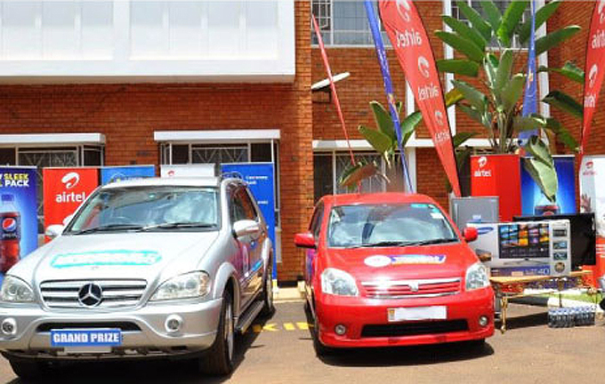The grand prize is a Mercedes Benz ML, that was previously driven by Archbishop Dr. Cyprian Kizito Lwanga.