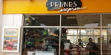 The new Prunes Express outlet at Shell Bugolobi.