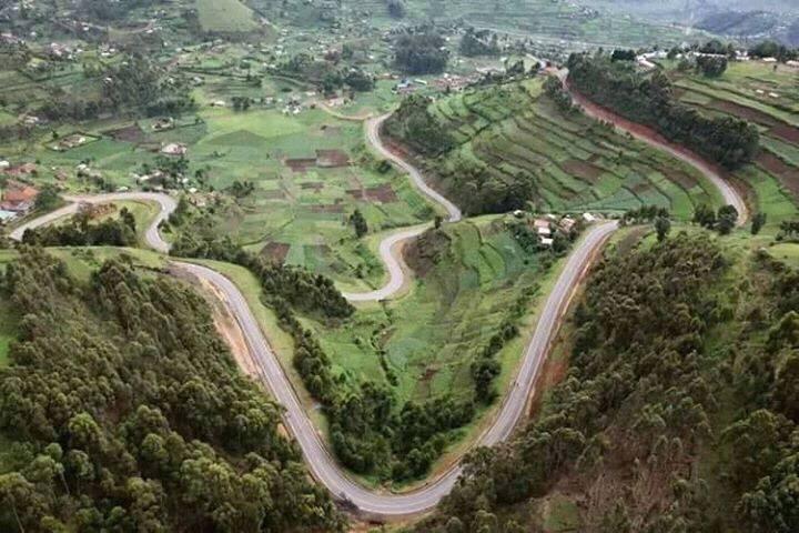 Kabale's winding roads. Photo/Bryt Baba