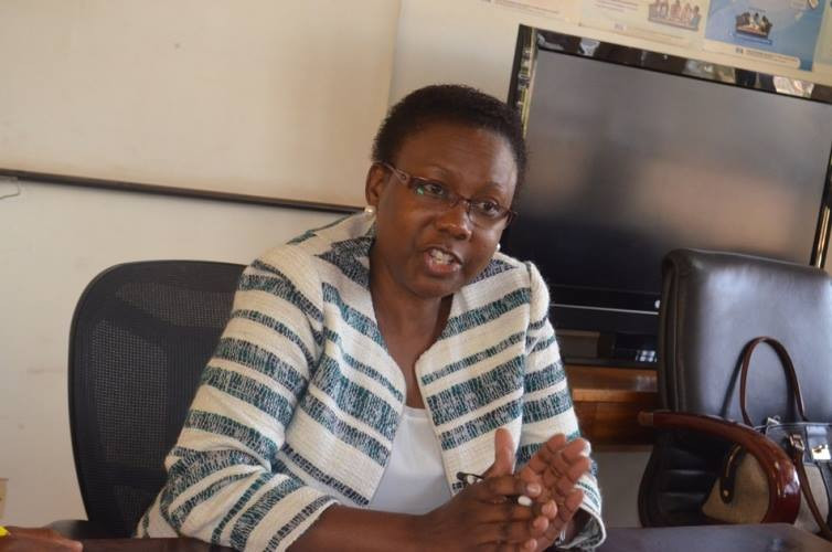 Director General of Health Services Dr. Jane Ruth Aceng.