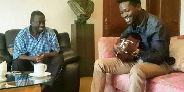 Bobi Wine and opposition leader Dr. Kiiza Besigye.