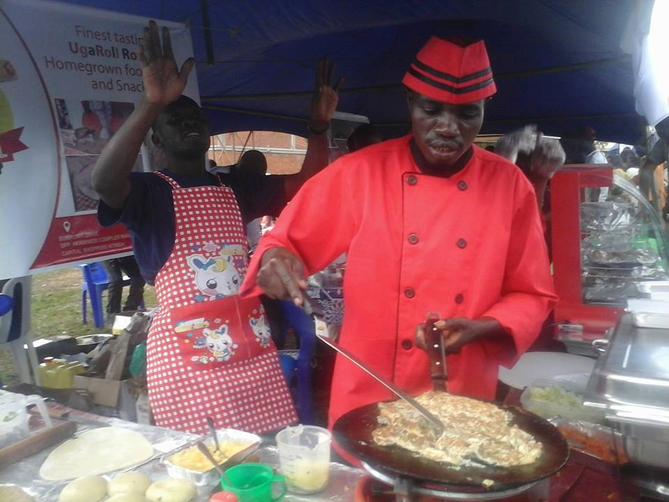 Forget the usual roadside rolex makers. This time chefs were on hand with new recipes.