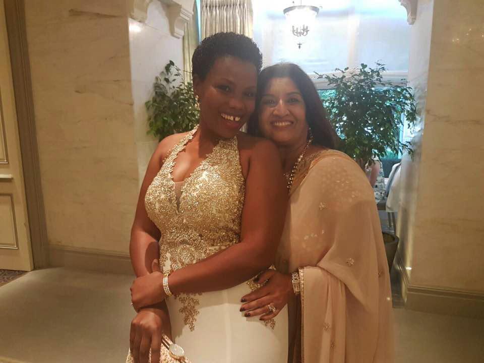 Jyostna Ruparelia and Mrs Kirumira.