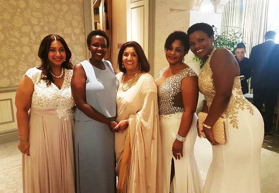 Mummy Jystona Ruparelia and friends.