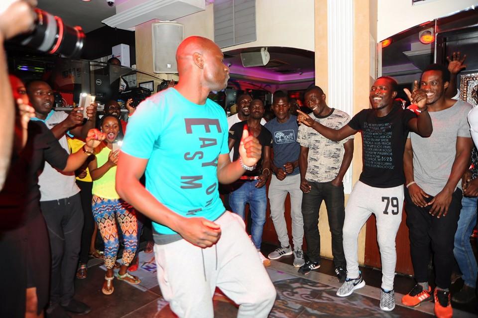 Onyango dancers solo.