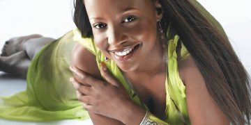 South African Rosie Motene, is a local TV actress and presenter (star of local soapie, Generations).