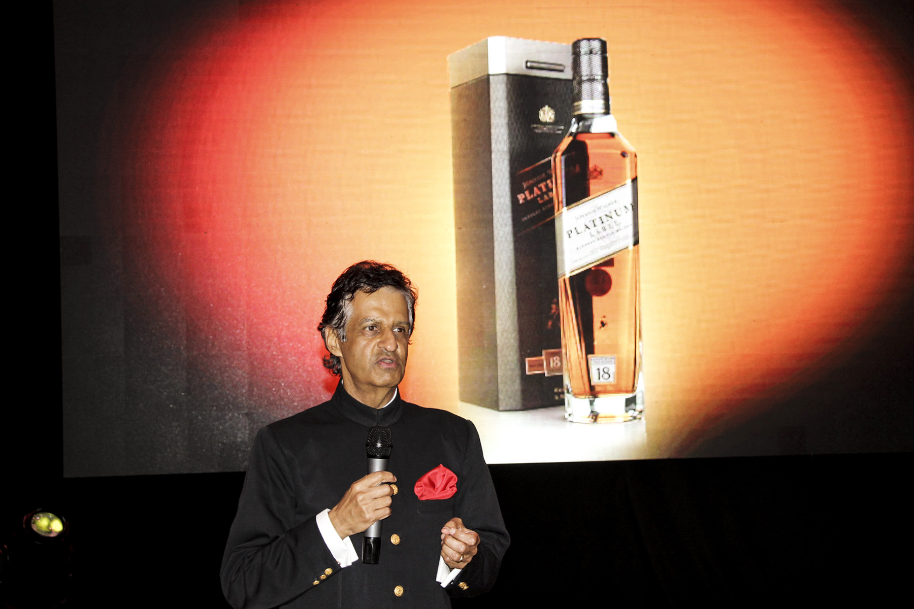 Kakira Nile Polo Club Chairman Mr. Nitin Madhvani speaks at the fundraising dinner, one of the highlights of the event.