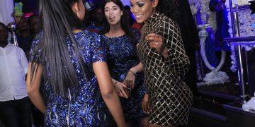 Vivianne dances with her friends.