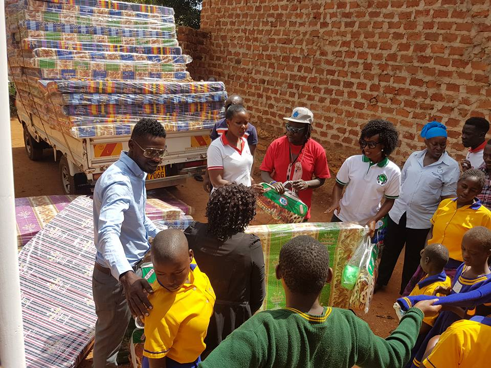 The singer has been involved in lots of outreach programmes in his community in the recent past.