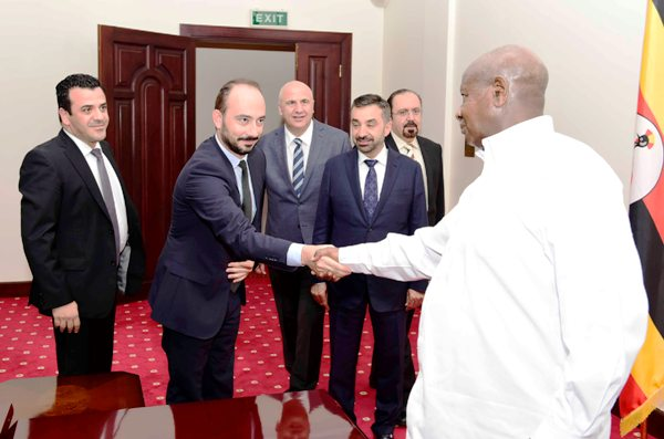 President Museveni meeting investors from UAE