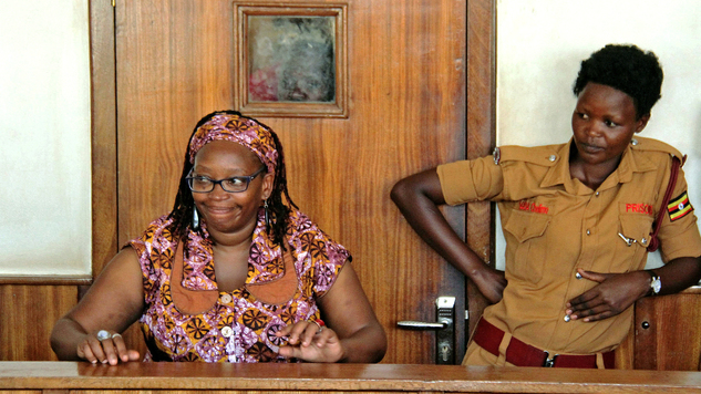Image result for stella nyanzi in court