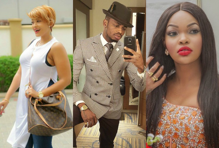 Diamond Platnumz praises both Zari and his ex-lover Wema