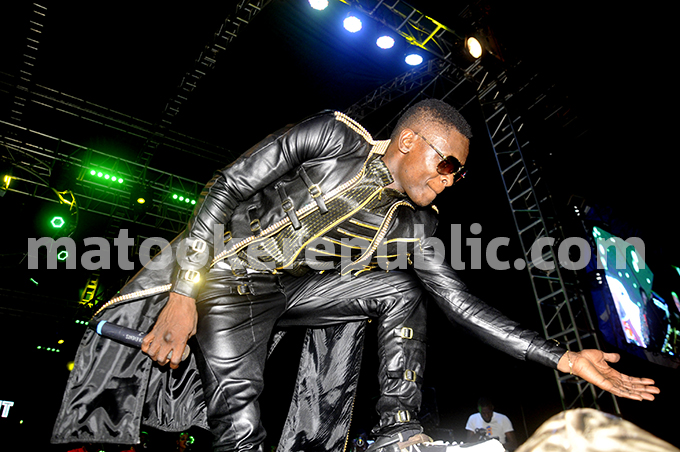 Jose Chameleone at the show.