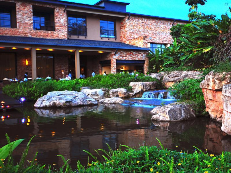 The resort is one of Uganda's few 5 star hotels.