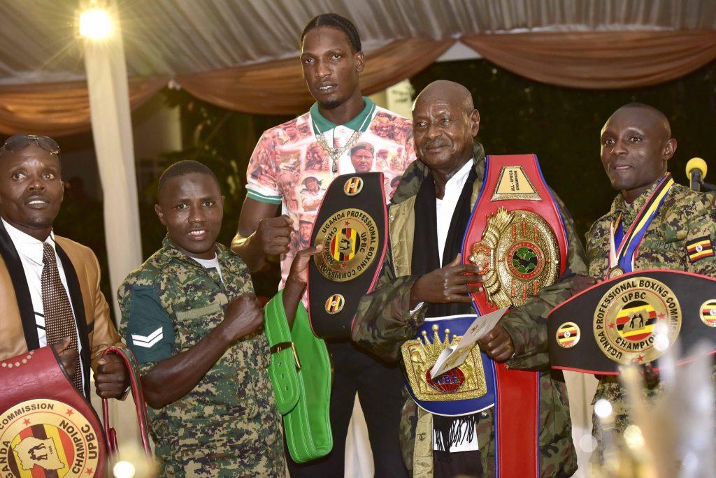 Uganda boxing