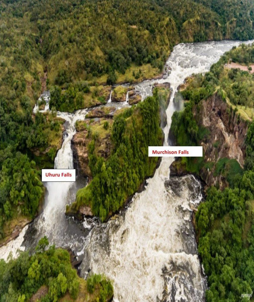 Murchison Falls and Uhuru Falls