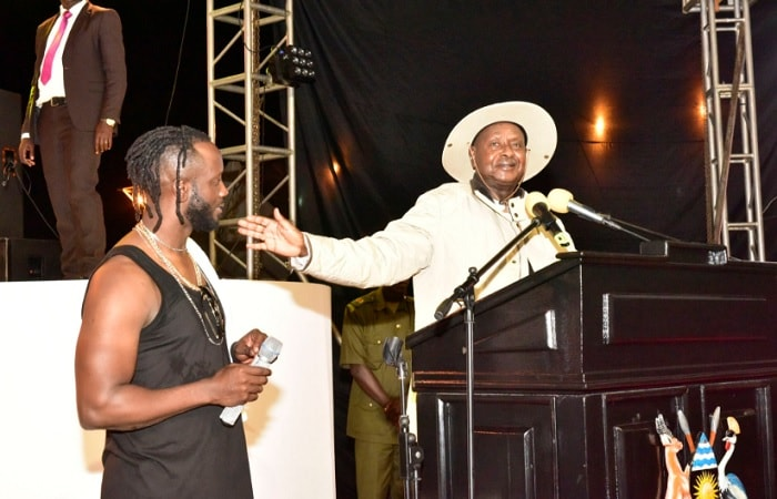 Bebe Cool is the founder of NRM's Silent Majority
