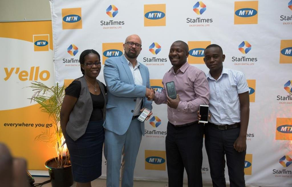 MTN introduces special data bundles for StarTimes App users