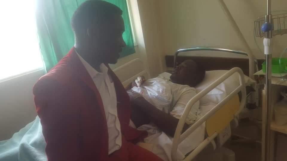 VIDEO: Hon. Zaake Francis found bedridden at Rubaga ...